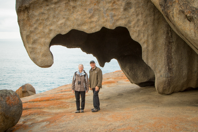 Remarkable Rocks with Tom and Joanne