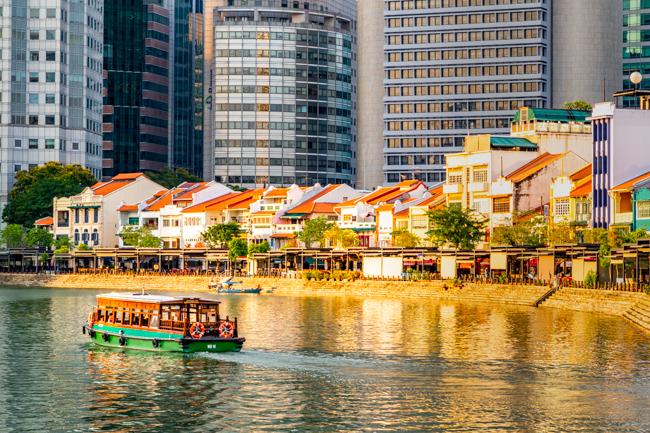 Singapore River Architecture