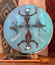 Drum for shamanic journey practice, Sedona, Arizona by Sandra Cosentino