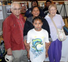 Sedona family who hosted her Hopi family for the weekend