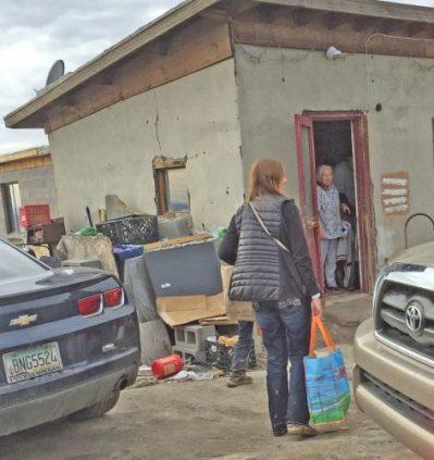 Hopi Holiday Project delivering to elders