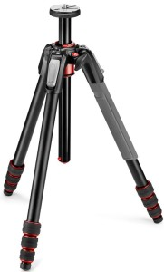 Manfrotto 190 Go Aluminum 4 Section Tripod with Twist Locks