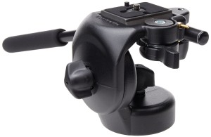 Manfrotto Micro Fluid Head with Rapid Connector Plate