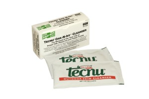 Tecnu Oak-N-Ivy Skin Cleanser Wipes