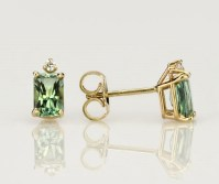 SparHawk Maine Tourmaline and Diamond Earrings - Reference Number: F6797