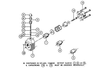 2 Spool Hydraulic Control Valve Cadren 2 Float Valve