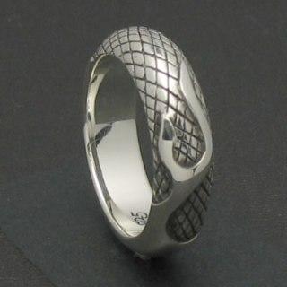 龍の体に纏わリつく炎を表現したシルバーリング「DRAKE RING」8