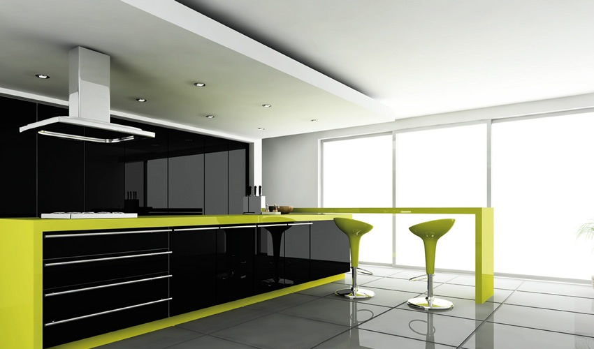 home depot kitchens black kitchen appliances luxe by alvic : luxurious high gloss lacquered surfaces ...