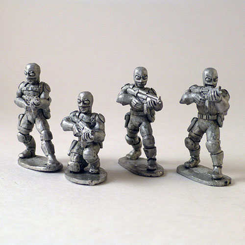 Paramilitary Goons – I.R.S. Agent Head