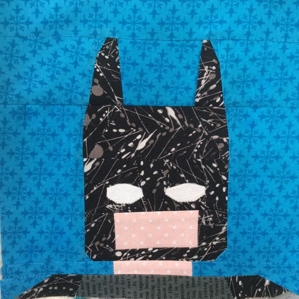 Batman Sleeping Bag Crossquilt