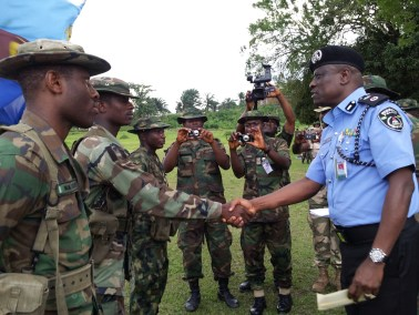 Image result for Nigerian Security operatives discuss inter-agency cooperation