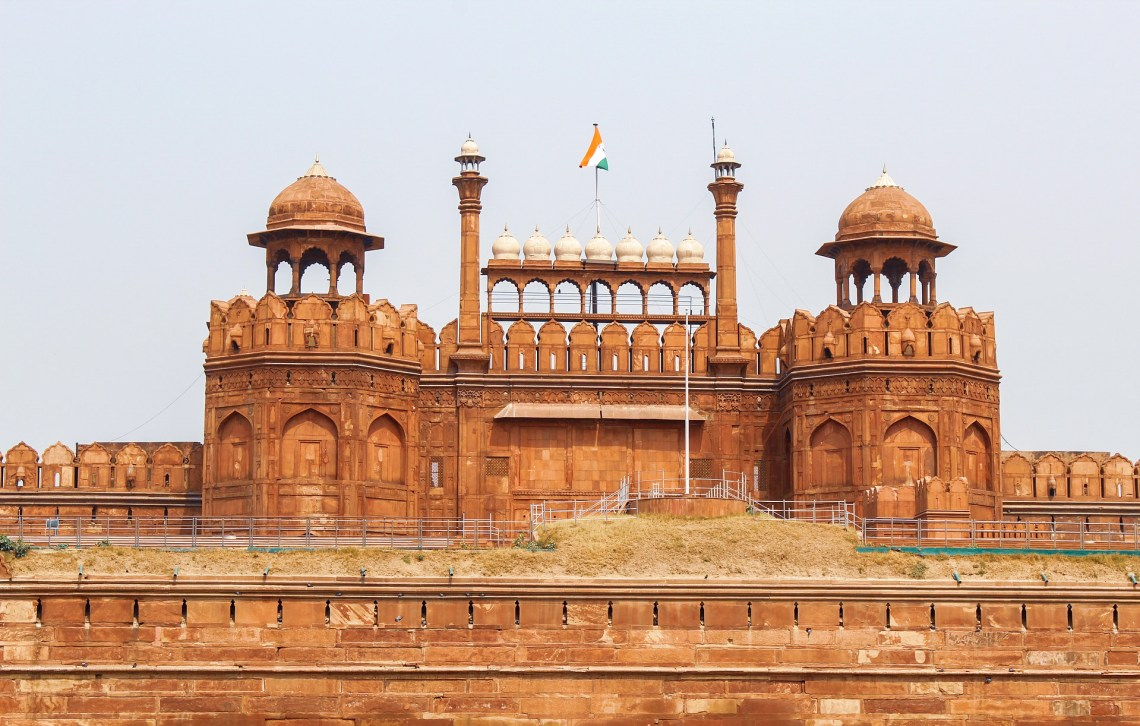Red fort , Delhi
