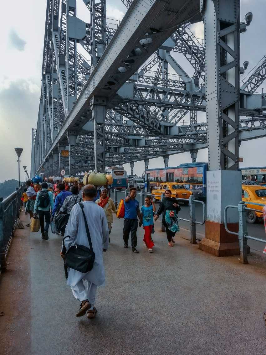 My Weekday travel to Kolkata for the first time