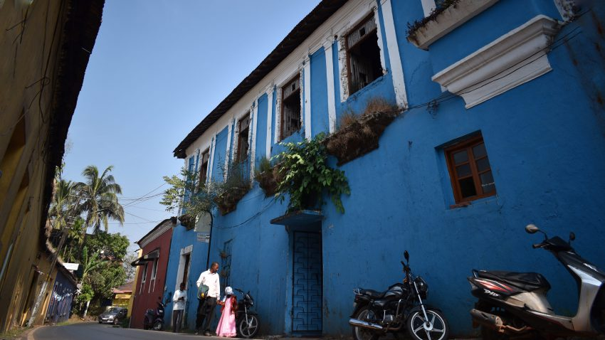 Goa Streets are best for Photography