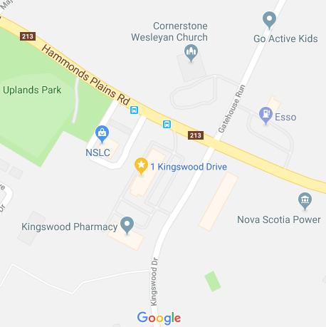 1 Kingswood - Map