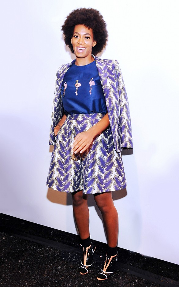 Style Icon Solange Knowles Crossroads