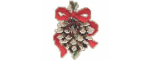 Add Beads to cross stitch