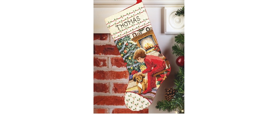 How To Make A Cross Stitch Stocking Cross Stitch In Time