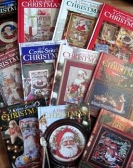 A Cross Stitch Christmas Books by Better Homes & Gardens