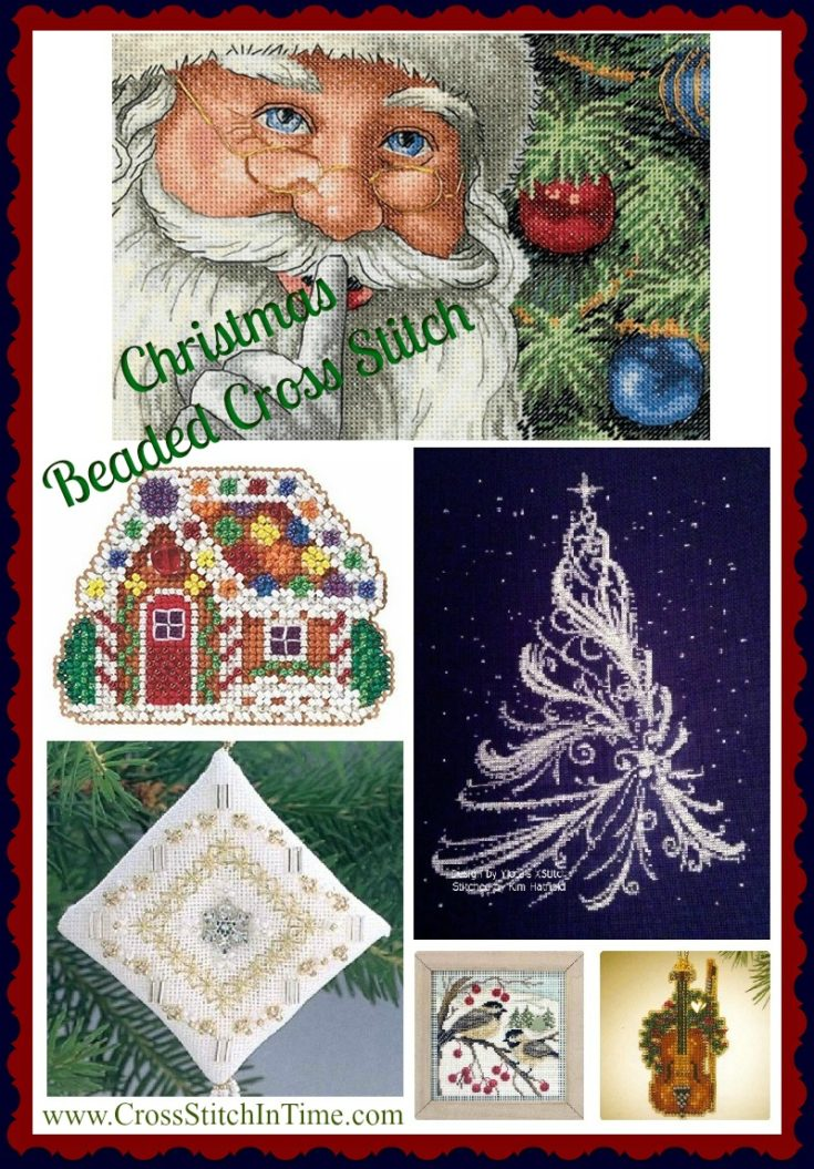 Christmas Beaded Cross Stitch Kits