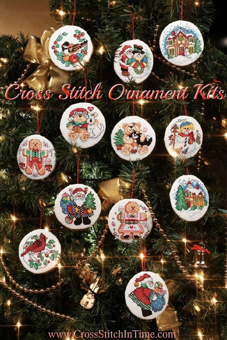 Cross Stitch Ornament Kits