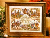 Hand & Heart Cross Stitch Christmas Book
