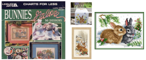 Bunny Rabbit cross stitch kits & patterns