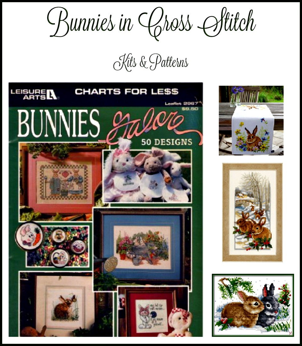 Bunny Cross Stitch kits and patterns