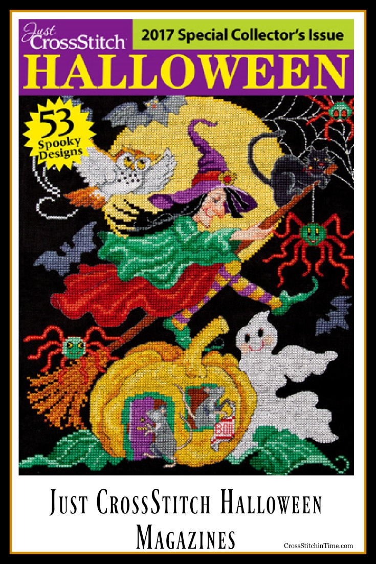 Just CrossStitch Halloween Special Collector's Issue Magazine