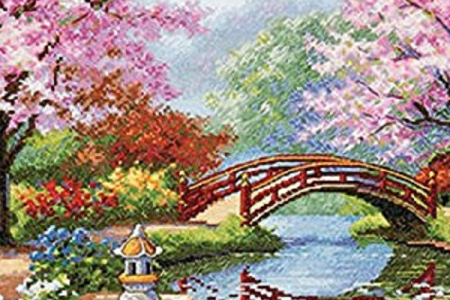 Spring Cross Stitch Kits & Patterns