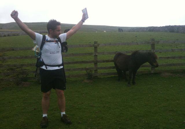 Cross the UK: Coast to Coast Jeff bigger than a horse!