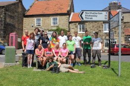 Cross the UK: HTCS Duke of Edinburgh Silver Final Expedition Finishers 2013