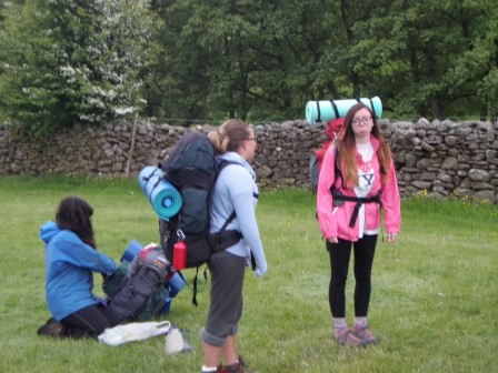 Cross the UK: Duke of Edinburgh Practice Expedition at Usha Gap, North Yorkshire Dales