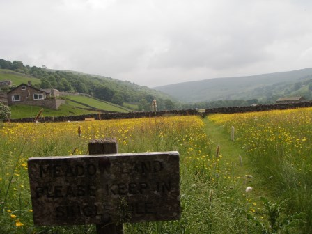 Cross the UK: Duke of Edinburgh Practice Expedition near Muker, North Yorkshire Dales
