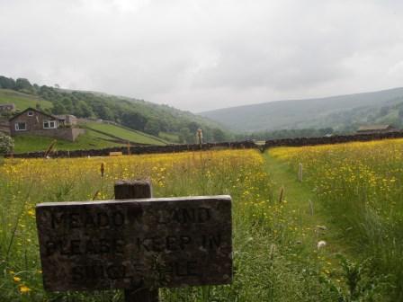 Cross the UK: Duke of Edinburgh Practice Expedition near Muker, North Yorkshire Dales