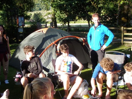 Cross the UK: Duke of Edinburgh HTCS Camping at Orchard Campsite