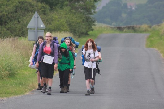 Cross the UK: HTCS Duke of Edinburgh Final Expedition North Yorks Moors Team Work