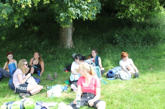 Cross the UK: HTCS Duke of Edinburgh Silver Final Expedition Lunch at Danby for 'Team Work'