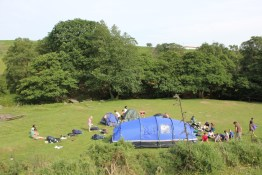Cross the UK: HTCS Duke of Edinburgh Silver Final Expedition Day One at Raven Gill Scout Campsite
