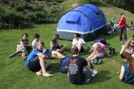 Cross the UK: HTCS Duke of Edinburgh Silver Final Expedition Rest at Raven Gill Scout Campsite