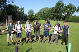 Cross the UK: HTCS Duke of Edinburgh Silver Final Expedition 'Los Tankos' at Carlton OEC