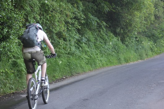 Cross the UK: HTCS Duke of Edinburgh Silver Final Expedition Stonesy Climbing out of Swainby