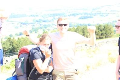 Cross the UK: HTCS Duke of Edinburgh Silver Final Expedition Bethan Closing Climb