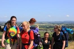 Cross the UK: HTCS Duke of Edinburgh Silver Final Expedition Team Work Closing Climb