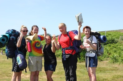 Cross the UK: HTCS Duke of Edinburgh Silver Final Expedition Team Work Celebrate