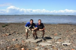 Cross the UK: Hadrian's Wall Walk Bowness on Solway Bulldog with Mick Fenwick and Richard Jefferson