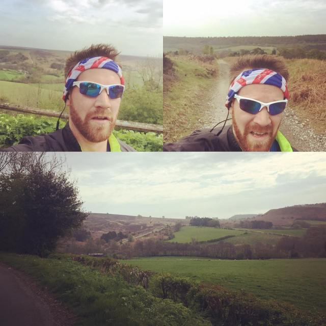 Lovely little training run on the North Yorkshire Moors runninghellip