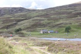 Callater Lodge and Callater Stable Bothy on the Invercauld Estate.