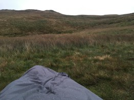 Waking up to this in my Outdoor Research Helium Bivy