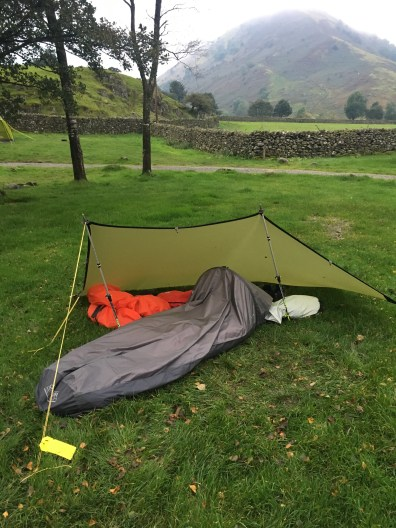 Testing the Outdoor Research Helium Bivy in the Lakes